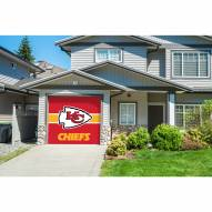 Kansas City Chiefs Single Garage Door Cover