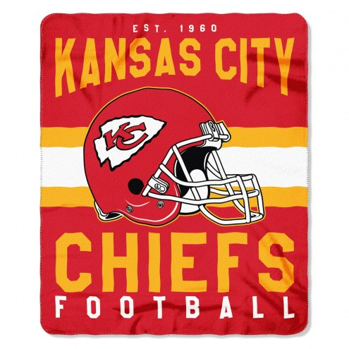 Kansas City Chiefs Singular Fleece Blanket