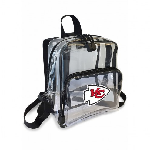 Kansas City Chiefs Stadium Friendly Clear Mini Backpack