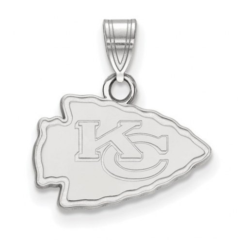 Kansas City Chiefs Sterling Silver Small Pendant