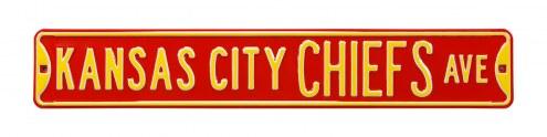 Kansas City Chiefs Street Sign