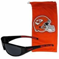 Kansas City Chiefs Sunglasses and Bag Set