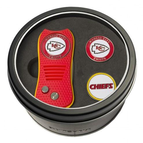 Kansas City Chiefs Switchfix Golf Divot Tool & Ball Markers on