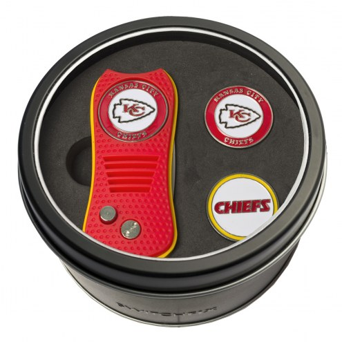 Kansas City Chiefs Switchfix Golf Divot Tool & Ball Markers