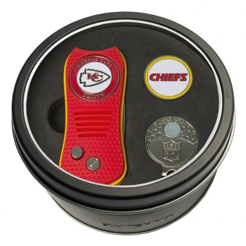 Kansas City Chiefs Switchfix Golf Divot Tool, Hat Clip, & Ball Marker