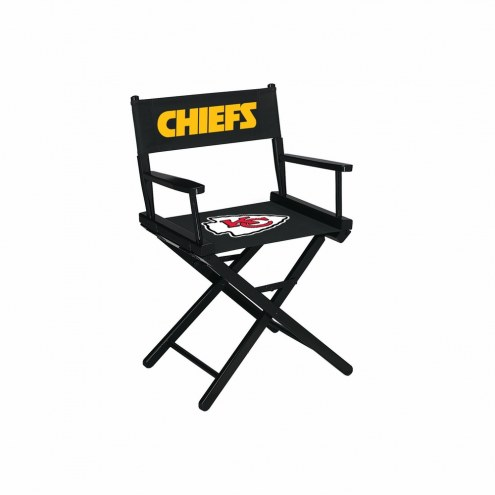 Kansas City Chiefs Table Height Director's Chair