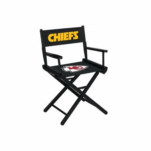 Kansas City Chiefs Table Height Director's Chair