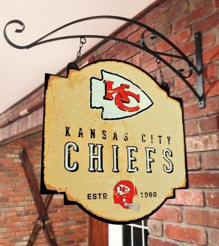 Kansas City Chiefs Tavern Sign