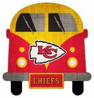 Kansas City Chiefs Team Bus Sign