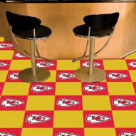 Kansas City Chiefs Team Carpet Tiles