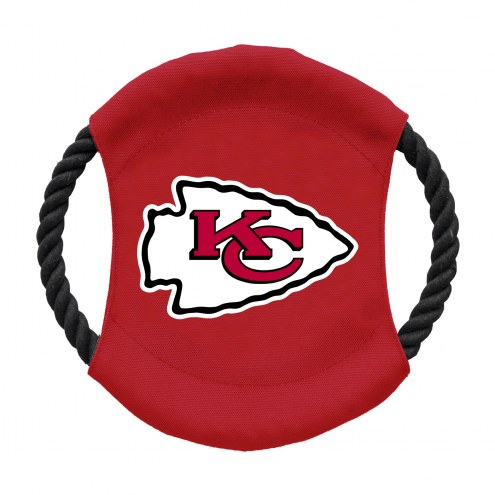 Kansas City Chiefs Team Frisbee Dog Toy