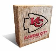 Kansas City Chiefs Team Logo Block
