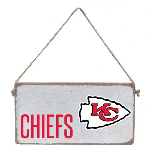 Kansas City Chiefs Mini Plank