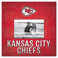 "Kansas City Chiefs Team Name 10"" x 10"" Picture Frame"