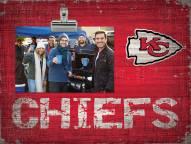 Kansas City Chiefs Team Name Clip Frame