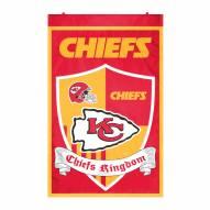 Kansas City Chiefs Team Shield Banner