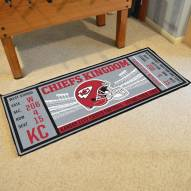 Kansas City Chiefs Ticket Runner Rug
