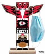 Kansas City Chiefs Totem Mask Holder