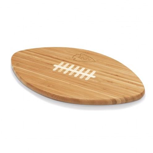 Kansas City Chiefs Touchdown Cutting Board