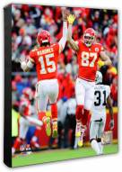 Kansas City Chiefs Travis Kelce & Patrick Mahomes Photo