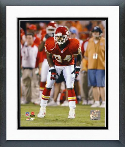 Kansas City Chiefs Ty Law 2006 Action Framed Photo