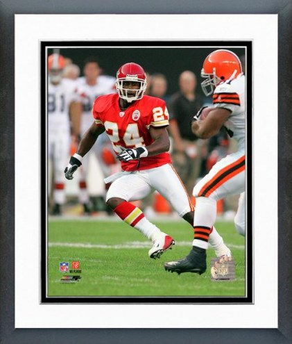 Kansas City Chiefs Ty Law 2007 Action Framed Photo