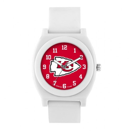 Kansas City Chiefs Unisex Fan White Watch