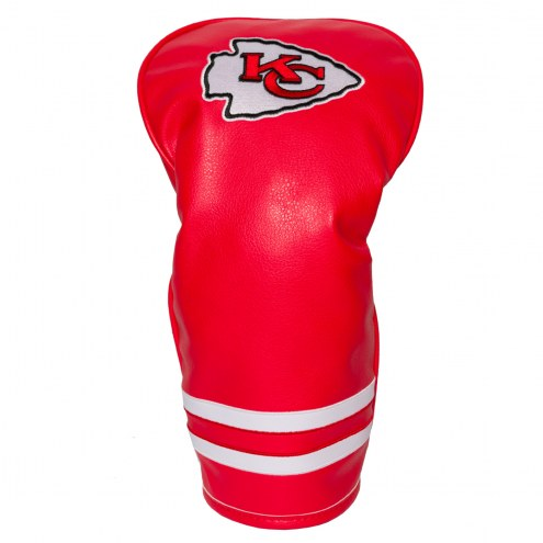 Kansas City Chiefs Vintage Golf Driver Headcover