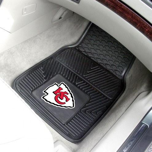 Kansas City Chiefs Vinyl 2-Piece Car Floor Mats