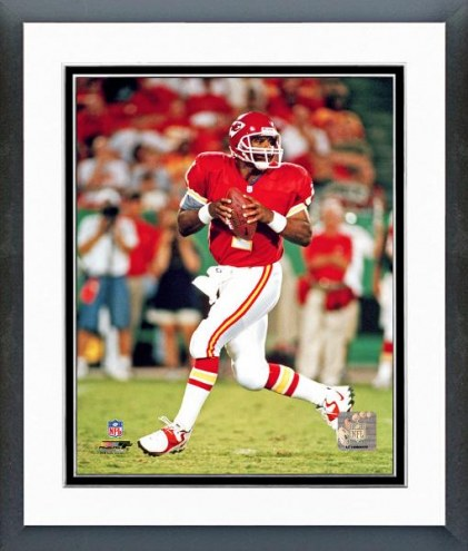 Kansas City Chiefs Warren Moon Action Framed Photo