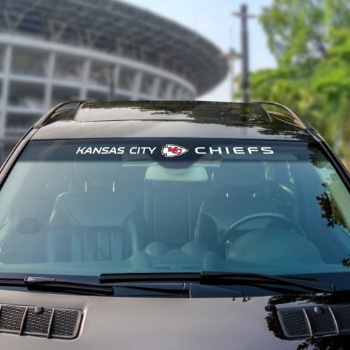 Kansas City Chiefs Windshield Decal
