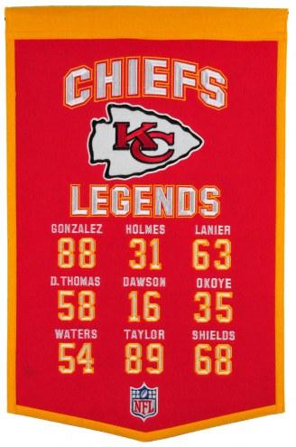 Kansas City Chiefs Legends Banner