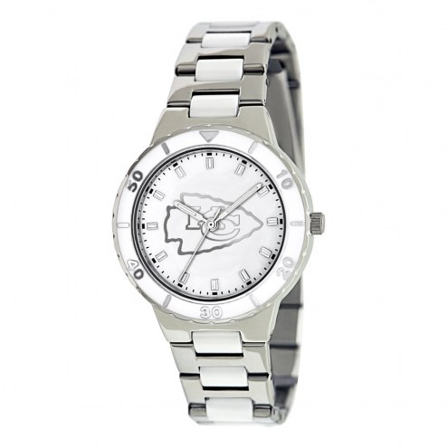 Kansas City Chiefs Womens Pearl Watch