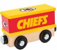 Kansas City Chiefs Wood Box Car Train