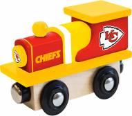 Kansas City Chiefs Wood Toy Train