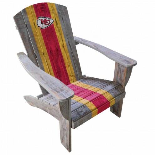 Kansas City Chiefs Wooden Adirondack Chair