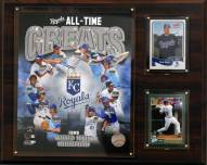 "Kansas City Royals 12"" x 15"" All-Time Greats Photo Plaque"