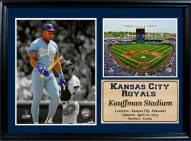 "Kansas City Royals 12"" x 18"" Bo Jackson Photo Stat Frame"