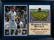 "Kansas City Royals 12"" x 18"" Bo Jackson Photo Stat Frame"