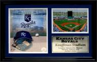 "Kansas City Royals 12"" x 18"" Photo Stat Frame"