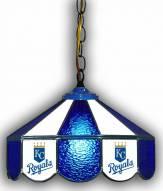 "Kansas City Royals 14"" Glass Pub Lamp"