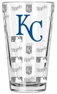 Kansas City Royals 16 oz. Sandblasted Pint Glass