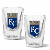 Kansas City Royals 2 oz. Prism Shot Glass Set