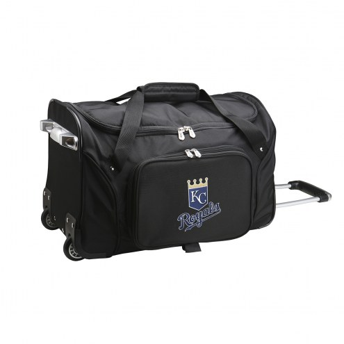 "Kansas City Royals 22"" Rolling Duffle Bag"