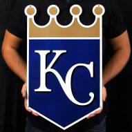 "Kansas City Royals 24"" Steel Logo Sign"