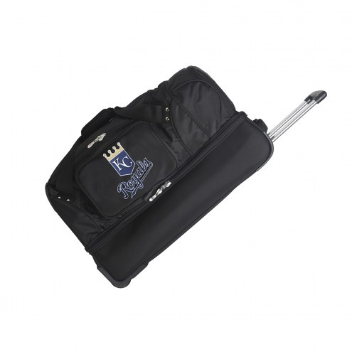 "Kansas City Royals 27"" Drop Bottom Wheeled Duffle Bag"