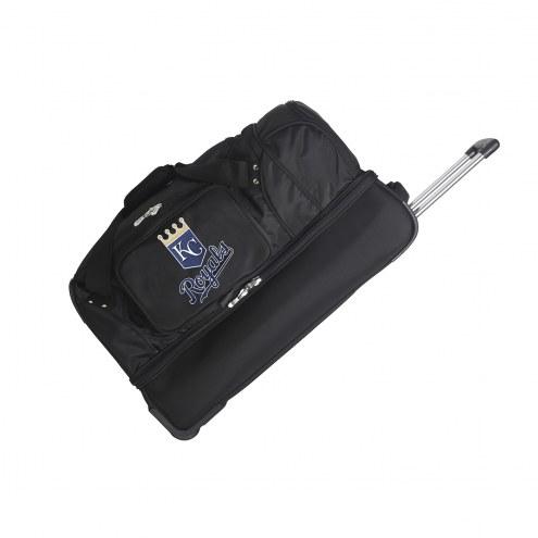 "Kansas City Royals 27"" Drop Bottom Wheeled Duffle Bag"