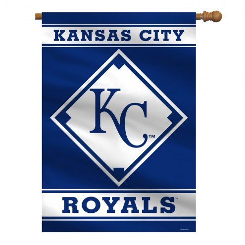 "Kansas City Royals 28"" x 40"" Banner"
