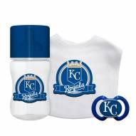 Kansas City Royals 3-Piece Baby Gift Set