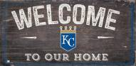 "Kansas City Royals 6"" x 12"" Welcome Sign"